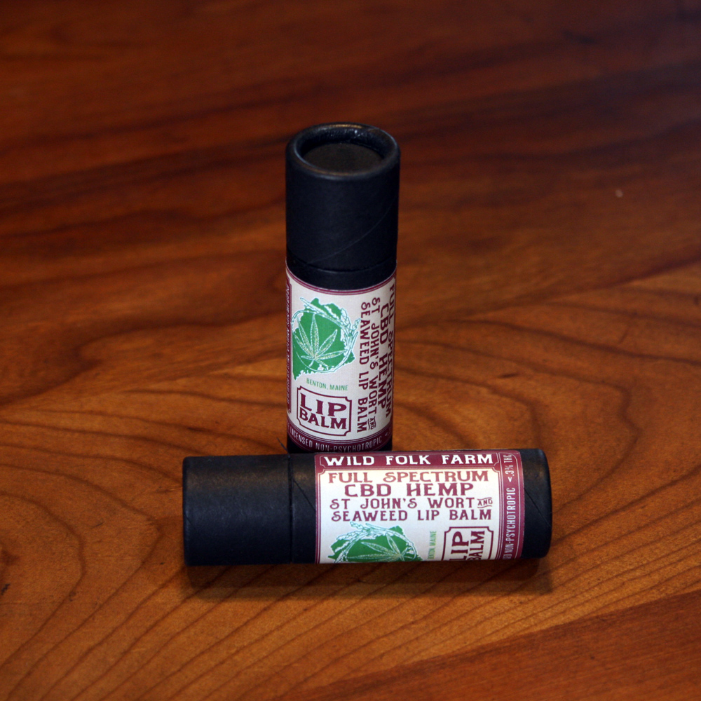 CBD Hemp Lip Balm